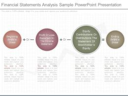 Custom Financial Statements Analysis Sample Powerpoint Presentation