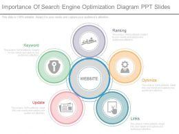 custom_importance_of_search_engine_optimization_diagram_ppt_slides_Slide01