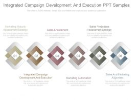 Custom Integrated Campaign Development And Execution Ppt Samples