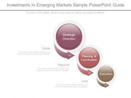 Custom Investments In Emerging Markets Sample Powerpoint Guide
