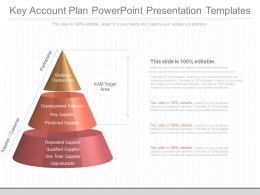 Custom Key Account Plan Powerpoint Presentation Templates