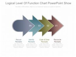 Custom Logical Level Of Function Chart Powerpoint Show
