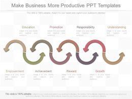 custom_make_business_more_productive_ppt_templates_Slide01