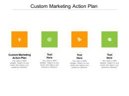 Custom Marketing Action Plan Ppt Powerpoint Presentation Inspiration Cpb