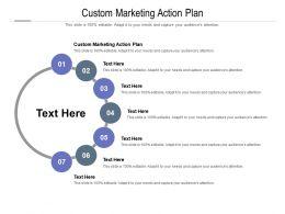 Custom Marketing Action Plan Ppt Powerpoint Presentation Slides Show Cpb