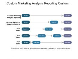 Custom Marketing Analysis Reporting Custom Marketing Analytics Reports Cpb