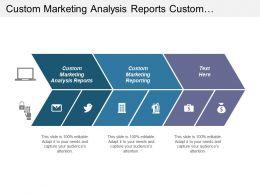 Custom Marketing Analysis Reports Custom Marketing Reporting Display Marketing Cpb