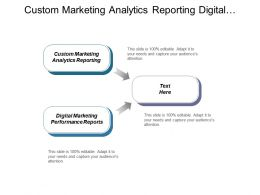 Custom Marketing Analytics Reporting Digital Marketing Performance Reports Cpb