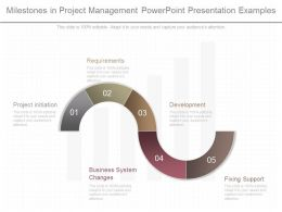 Custom Milestones In Project Management Powerpoint Presentation Examples