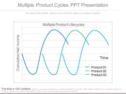 Custom Multiple Product Cycles Ppt Presentation