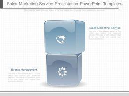 Custom Sales Marketing Service Presentation Powerpoint Templates