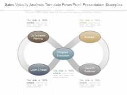 Custom Sales Velocity Analysis Template Powerpoint Presentation Examples