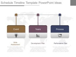 Custom Schedule Timeline Template Powerpoint Ideas