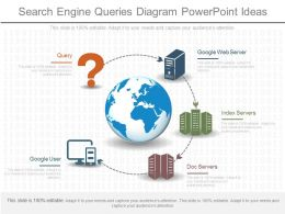Custom Search Engine Queries Diagram Powerpoint Ideas