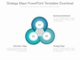 Custom Strategy Maps Powerpoint Templates Download