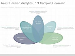Custom Talent Decision Analytics Ppt Samples Download