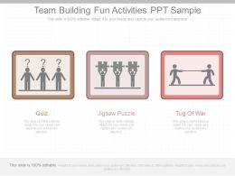 Custom Team Building Fun Activities Ppt Sample