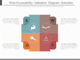 Custom Web Accessibility Validation Diagram Samples
