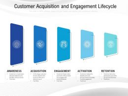 Customer Acquisition And Engagement Lifecycle