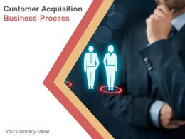 Customer Acquisition Business Process Powerpoint Presentation Slides