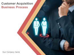Customer Acquisition Business Process Powerpoint Presentation Slides