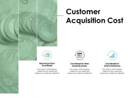 Customer Acquisition Cost Direct Salesforce Based Business Ppt Powerpoint Presentation Slides