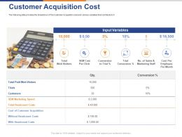 Customer Acquisition Cost Ppt Powerpoint Presentation Rules