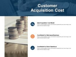 Customer Acquisition Cost Salesforce Business Ppt Powerpoint Presentation Summary Tips