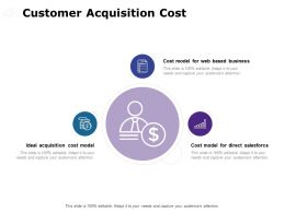 Customer Acquisition Cost Salesforce Ppt Powerpoint Presentation File Infographics