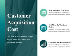 Customer Acquisition Cost Sample Ppt Presentation