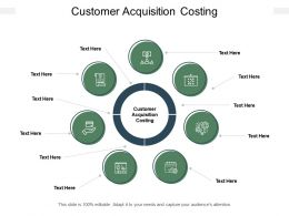 Customer Acquisition Costing Ppt Powerpoint Presentation Slide Cpb