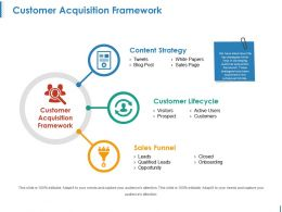 Customer Acquisition Framework Powerpoint Slide Designs Download