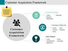 Customer Acquisition Framework Powerpoint Templates