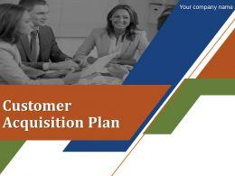 Customer Acquisition Plan Powerpoint Presentation Slides