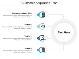 Customer Acquisition Plan Ppt Powerpoint Presentation File Elements Cpb