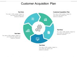 Customer Acquisition Plan Ppt Powerpoint Presentation Summary Files Cpb
