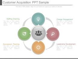 Customer Acquisition Ppt Sample