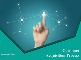 Customer Acquisition Process Powerpoint Presentation Slides