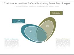Customer Acquisition Referral Marketing Powerpoint Images