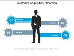 Customer Acquisition Retention Ppt Powerpoint Presentation Pictures File Formats Cpb