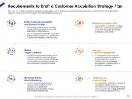 Customer Acquisition Strategy Plan For New Customers And Improving Retention Rate Complete Deck