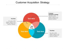 Customer Acquisition Strategy Ppt Powerpoint Presentation Portfolio Gridlines Cpb