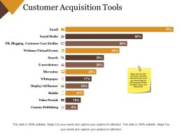 Customer Acquisition Tools Powerpoint Images