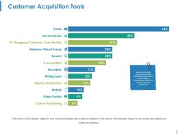 Customer Acquisition Tools Powerpoint Templates