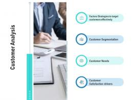 Customer Analysis Competitor Analysis Product Management Ppt Structure