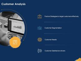 Customer Analysis Effectively Needs Powerpoint Presentation Skills