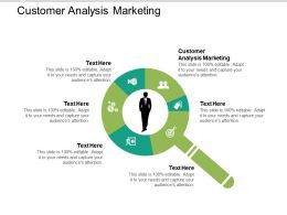 Customer Analysis Marketing Ppt Powerpoint Presentation Gallery Format Ideas Cpb