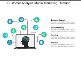 Customer Analysis Media Marketing Demand Management Break Even Point Cpb