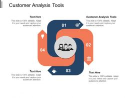 Customer Analysis Tools Ppt Powerpoint Presentation Model Portfolio Cpb
