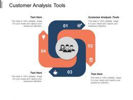 Customer Analysis Tools Ppt Powerpoint Presentation Model Portfolio Cpb